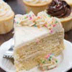 Recette de base de gâteau jaune (gâteaux et petits gâteaux)