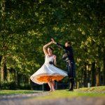 25 des plus belles robes de mariée courtes de longueur de thé avec des manches