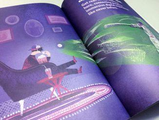Espresso Ideas una doppia pagina del primo numero
