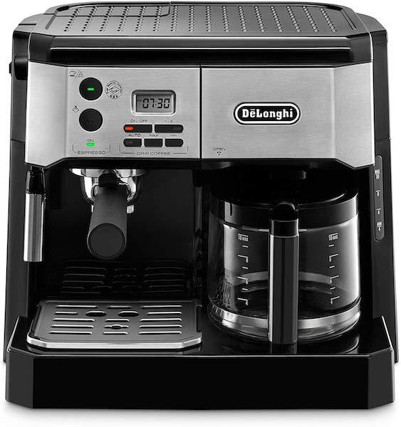 combo delonghi café et expresso bco430bm