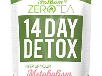 Zero Tea 14 jours Detox Tea, thé de perte de poids, Teatox Herbal Tea pour Cleanse