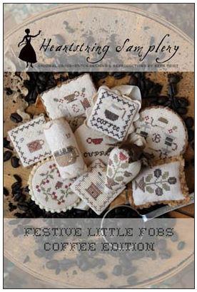 cliquez ici pour agrandir l'image de Festive Little Fobs 12 - Coffee Edition (graphique)
