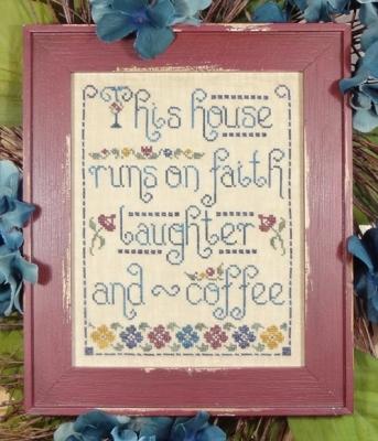 cliquez ici pour agrandir l'image de Faith Laughter and Coffee (graphique)