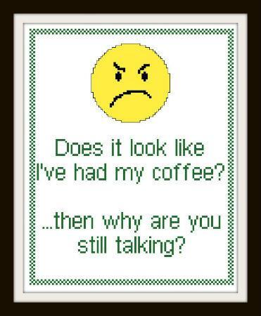 cliquez ici pour agrandir l'image de Had My Coffee? (graphique)
