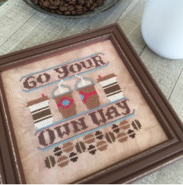 cliquez ici pour agrandir l'image de Go Your Own Way - Cool Beans (graphique)
