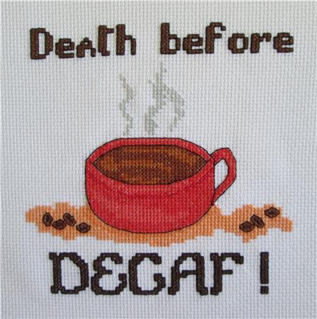 cliquez ici pour agrandir l'image de Death Before Decaf (graphique)
