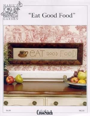 cliquez ici pour agrandir l'image de Eat Good Food (graphique)