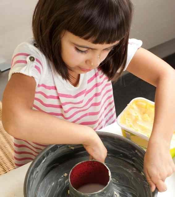 Comment faire du gâteau au lait condensé - Étape 1