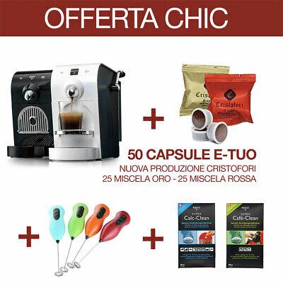 Machine à café MARTELLO CHIC +50 Capsules E-Tuo Compat. + CADEAU GRATUIT (reconditionné)
