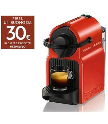 Machine à café Nespresso Inissia Rosso Espresso