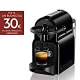 Nespresso Inissia EN80.B Machine à café expresso, 1260 W, 1 tasse, 14 décibels, 19 bar, Plastique, Noir (Noir)