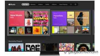 Apple Music est désormais disponible sur les téléviseurs intelligents Samsung dans plus de 100 pays