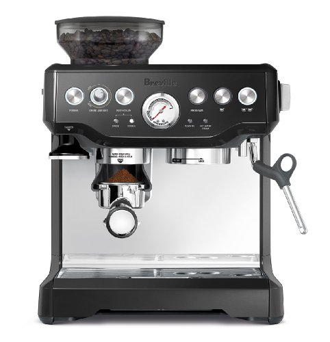 Breville BES870BSXL The Barista Express Coffee Machine, Black Sesame