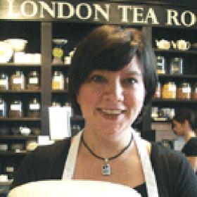 Le salon de thé de Londres