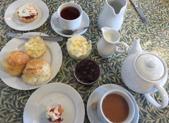 Le thé à la crème est une tradition très appréciée en Angleterre