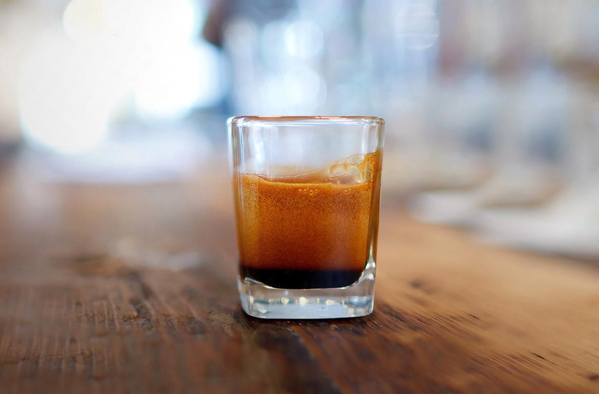 café au verre