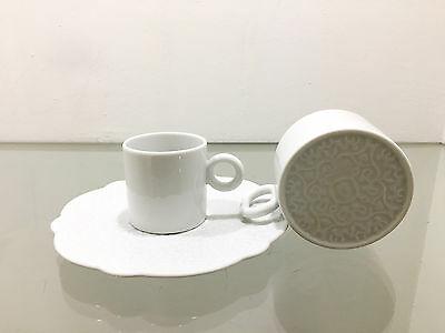 Tasses à café habillées Alessi pour 4 personnes - 30% de réduction