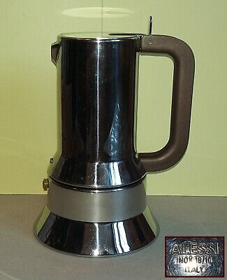 Cafetière ALESSI 9090/6 - 6 tasses en acier - Cafetière Des Richard Sapper