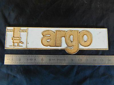 Étiquette Argo Vintage Coffee Machine