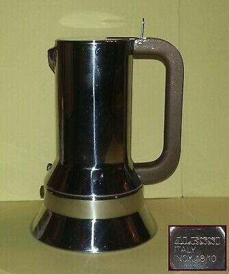 Cafetière ALESSI 9090/3 - 3 tasses en acier - Cafetière Des Richard Sapper