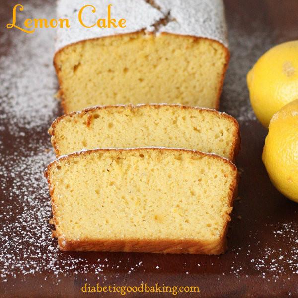 Recette de gâteau de livre diabétique Diabetic Good Baking Gâteau au citron