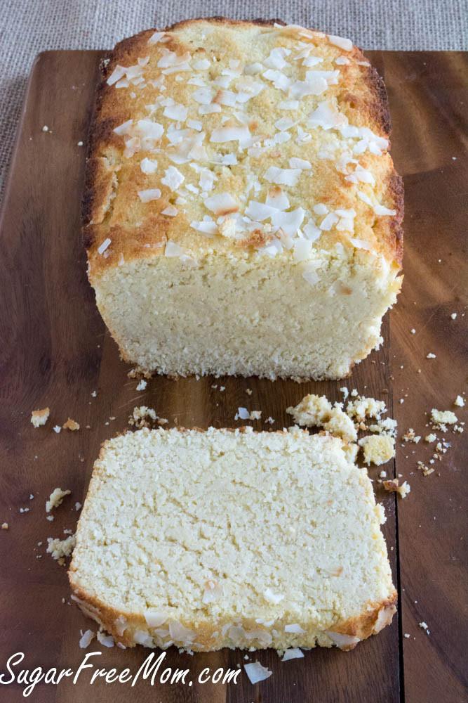 Recette de gâteau de livre diabétique Gâteau sans sucre au citron et à la noix de coco, faible en glucides et sans céréales