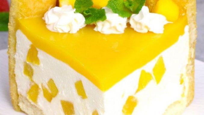 Délicatesse tropicale! Découvrez comment faire une délicieuse tarte à la mangue sans four!