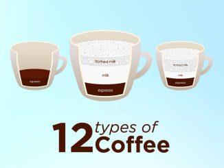 12 différents types de café expliqués