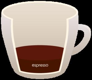 """ESPRESSO """"width ="""" 300 """"height ="""" 260 """"srcset ="""" https://www.shop-ici-ailleurs.com/wp-content/uploads/2020/06/12-differents-types-de-cafe-expliques.png 300w, https://coffeedx.com/wp- content / uploads / 2018/09 / ESPRESSO.png 430w """"tailles ="""" (largeur max: 300px) 100vw, 300px """"/> L'espresso est une forme de café concentré qui est généralement servi sous forme de plans. Toutes les boissons à base d'expresso ont trois ingrédients: espresso, lait cuit à la vapeur et mousse. Le processus de fabrication de l'espresso s'appelle tirer un coup dans lequel de l'eau chaude est pressurisée et versée sur des grains de café finement moulus. Tous les expressos ont de la crème qui est la mousse qui y est de couleur rouge brunâtre et donne la saveur et l'odeur riches au café.</p> <p>Comme mentionné ci-dessus, l'espresso est servi en tasses et quelle que soit la taille, quelle que soit sa taille, ils sont servis dans des tasses demitasse qui contiennent 2 à 4 onces d'expresso par portion. Il faut généralement de 3 à 5 minutes pour préparer un expresso, à base de grains de café finement moulus et d'eau tiède. Les grains de café sont finement moulus et une certaine quantité d'eau y est ajoutée pour renforcer le goût du café.</p> <h3><span class="""