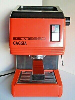 Machine à café expresso vintage Gaggia Cappuccino 9 Photos