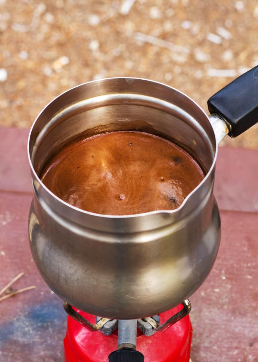 qu'est-ce que du café bouilli
