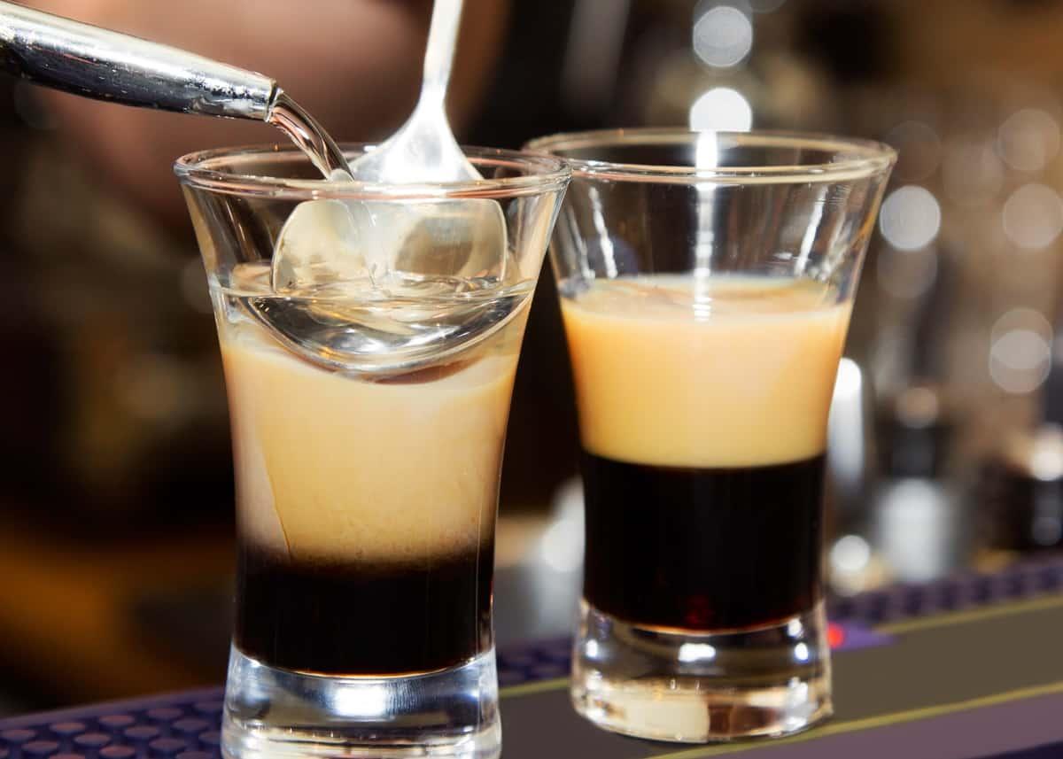 Café avec de l'alcool