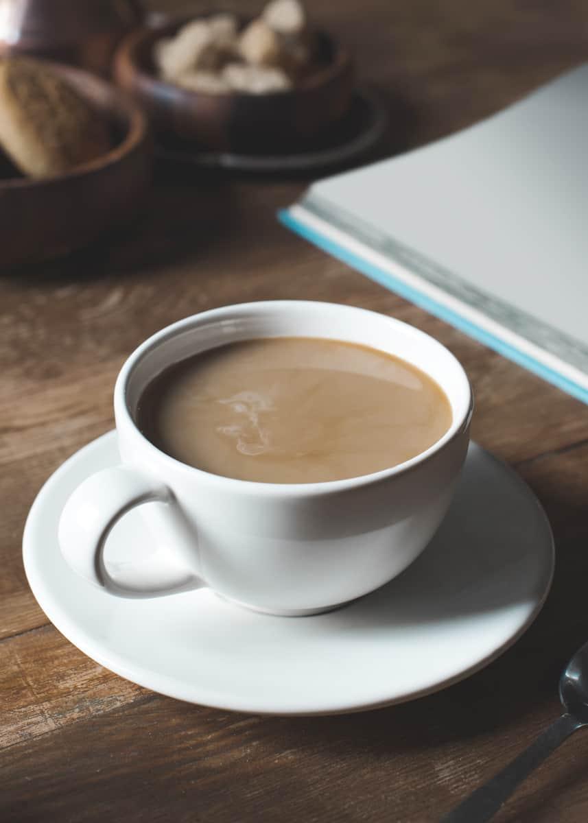 types de café avec du thé