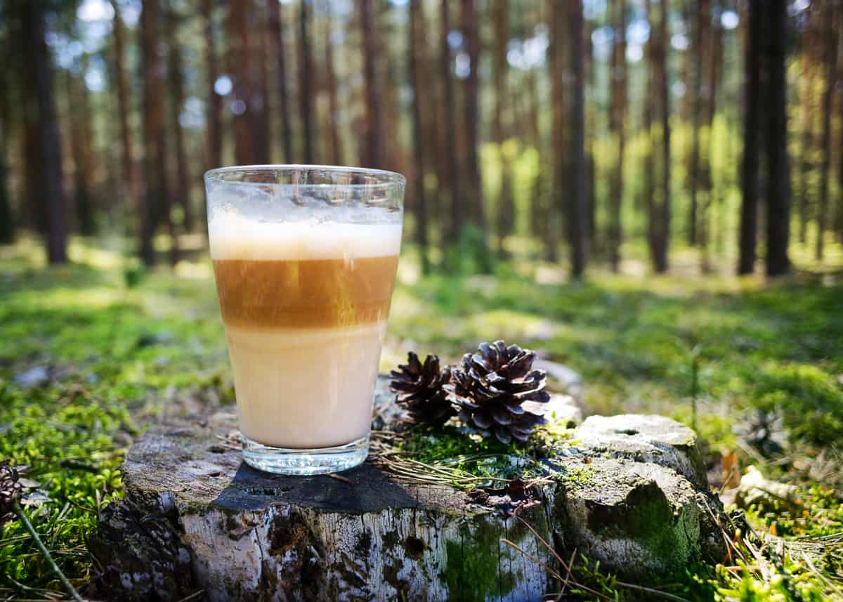 liste des boissons au café