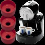 ADAPTATEURS POUR GÉLULES À DOSE UNIQUE SUR MACHINE À ESPRESSO ET CAPPUCCINO BIDOSE LAVAZZA ECL 101 - Morena Caffè