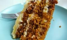 Gâteau aux carottes recette Claire Clark