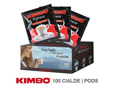 Promo 100 Kimbo Espresso Pods Boîte de 100 pièces ESE44 NAPOLETANO Naples mélange