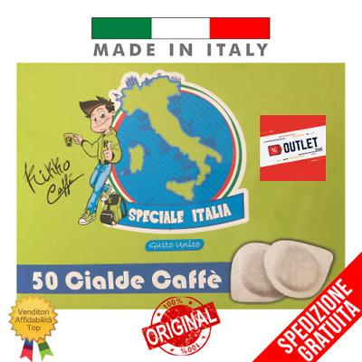 50 ESE PODS 44 KIKKO CAFÉ Espresso Napoletano Spécial Italie Goût Unique