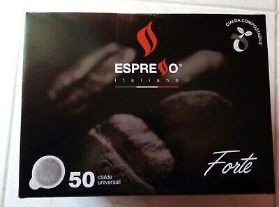 100 dosettes. Dosettes universelles de café napolitain expresso