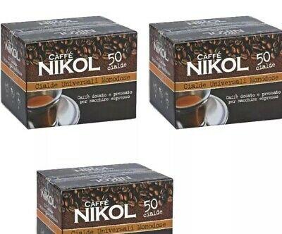 200 dosettes unidoses NIKOL COFFEE filtre papier compatible