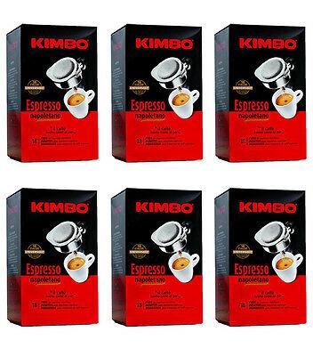 108 dosettes unidoses COFFEE KIMBO ESPRESSO NAPOLETANO filtre en papier café