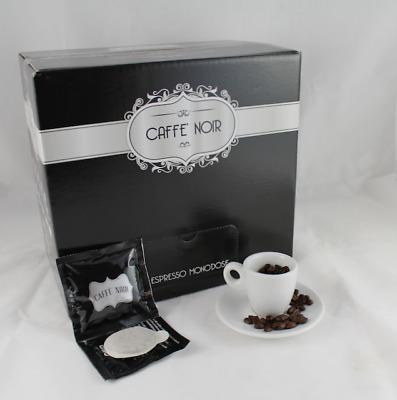 600 ESE PODS 44 NOIR COFFEE Gran Espresso Napoletano Papier Filtre Mélange Unique