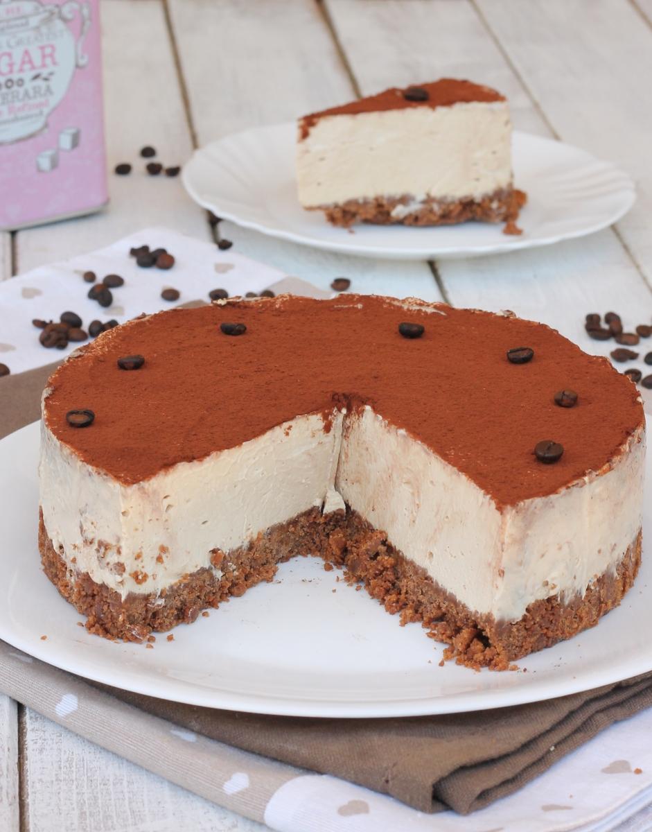 dessert CAFÉ FROID gâteau au fromage au café avec ricotta recette