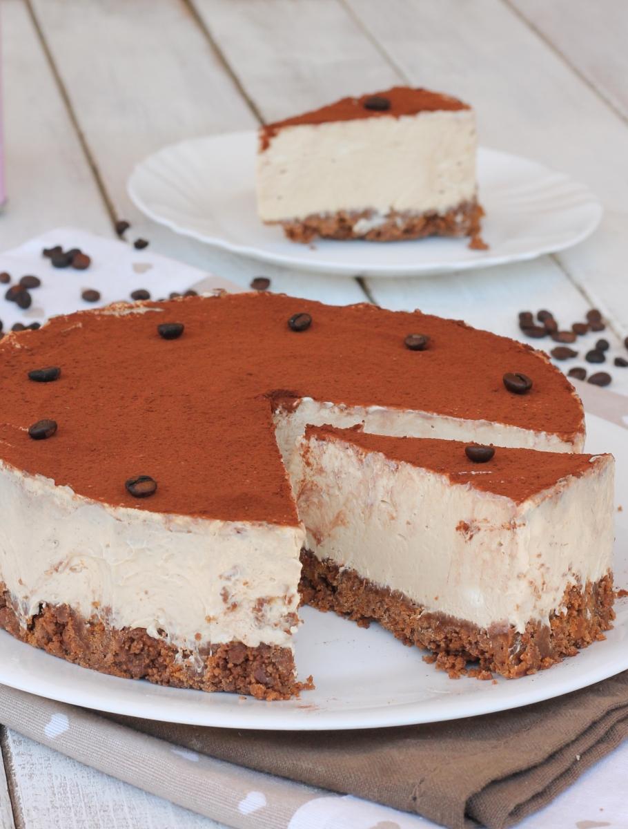 GATEAU AU FROMAGE AU CAFÉ sans recette de recette gâteau au fromage au café avec de la ricotta