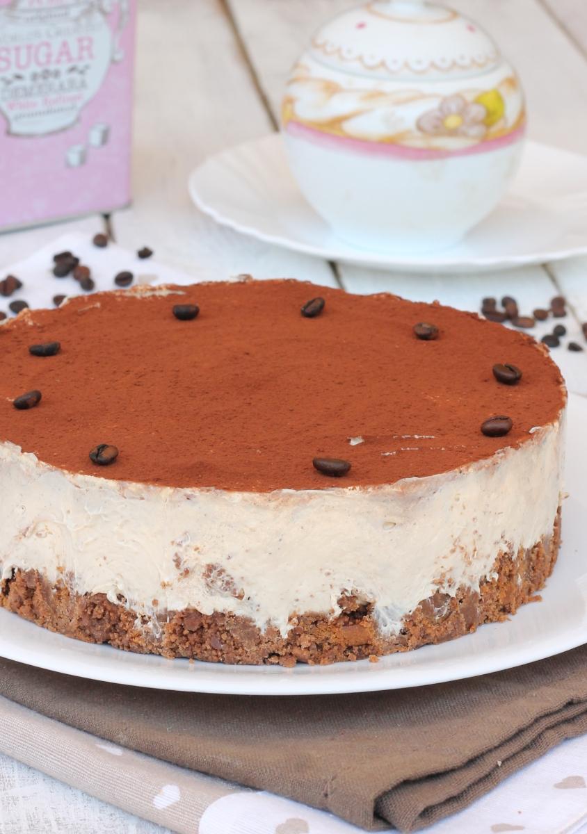 CAFÉ CAFÉ gâteau gâteau au fromage au café avec ricotta recette