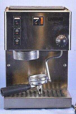 """Machine à expresso Rancilio """"Silvia"""", ancienne version - ne fonctionne pas, pour les pièces."""