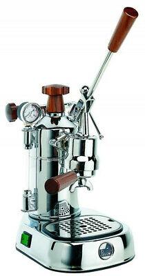 La Pavoni 1.6 Lt 1000 Watt Levier Machine à café Espresso Chrome PLH PROFESSIONAL
