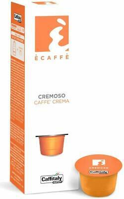 100 Capsules Caffitaly System Ecaffè Cremoso Coffee and Cream