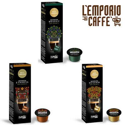 100 Capsules Caffe Caffitaly System Smart Best Origin: Brésil, Ethiopie et Mexique