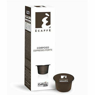 200 Capsules Caffe 'Caffitaly System Ecaffe' Espresso corsé Forte Break Shop
